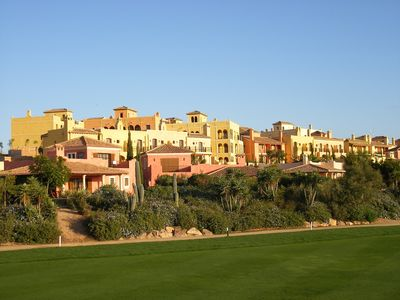 View of the property from the golf course