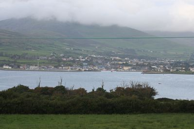 view from master bedroom window of Dingle Bay
