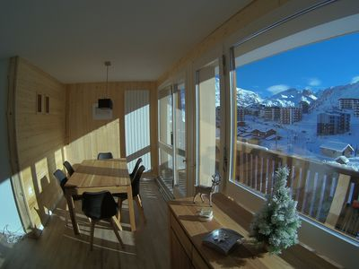 Photo for 3 bedroom apartment 6 people Tignes le Lac free wifi