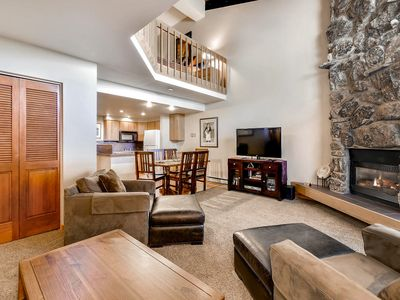 Photo for Cozy Mountain Studio + Loft; Updated Bathrooms; Ski-In/Out; Discount Lift Tix
