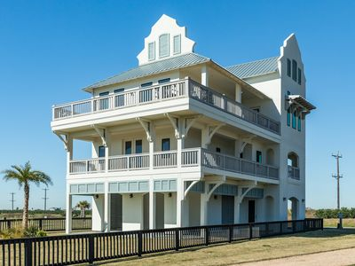 Photo for NEW LISTING! Beachfront home w/shared resort style pool-easy beach access
