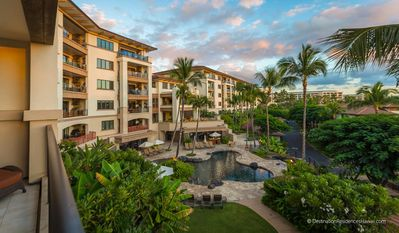 Photo for Island-style penthouse with private lanai and full gourmet kitchen