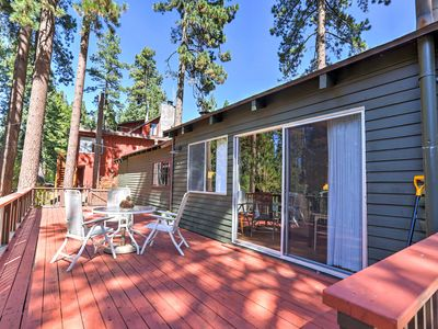 Photo for Zephyr Cove Cabin w/ Porch - Close to Lake Tahoe!