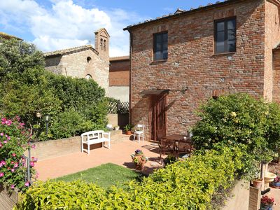 """Photo for CHARMING APARTMENT IN THE HEART OF """"CRETE SENESI"""""""