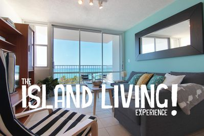 Living Room with a spectacular Ocean view. The true Island Living Experience!