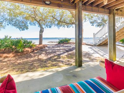 Photo for Beautiful Bay Front Home in Elberta with Beach Access!