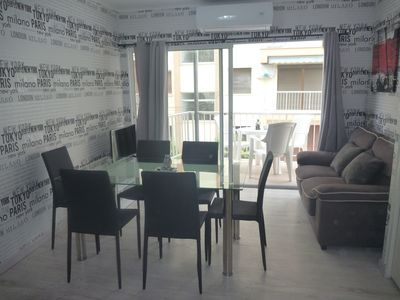 Photo for apartment 50 meters from the beach with views