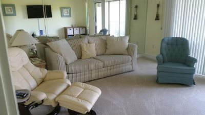 Photo for Xanadu Villa A17  Fifth floor Poolside Flat -Minutes to Ocean & Coligny