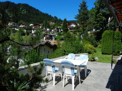 Photo for 3. 5 room garden apartment at Lake Laax in Laax