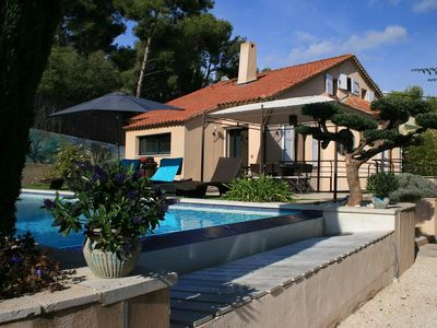 "Photo for BEAUTIFUL VILLA ""CARPE DIEM"" HEATED POOL / 8 PEOPLE"