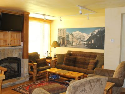 Photo for SUMMERTIME IN THE MTNS! Telluride Lodge-3BR/2.5bth - Hot tub- WALK TO EVERYTHING