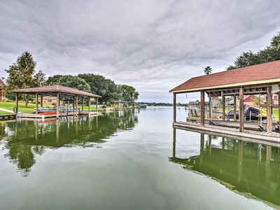 Photo for NEW! Willis Townhome w/2 Boat Slips on Lake Conroe
