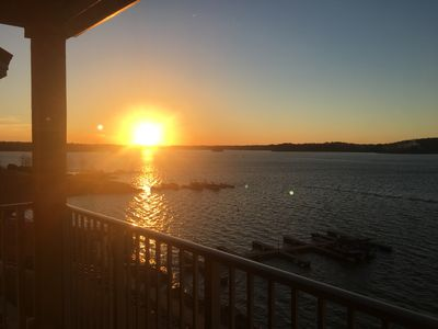 Photo for Beautiful 3 bedroom Crowne Pointe Condo on Lake Martin with panoramic lake views