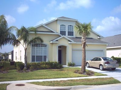 Photo for 6 Bedroom Villa near Disney Private Pool/Spa (heating included) Game Room Wif