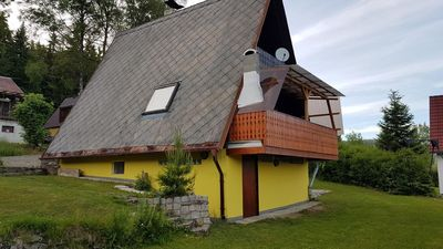 Photo for Holiday house Lipno nad Vltavou for 4 persons with 2 bedrooms - Holiday house