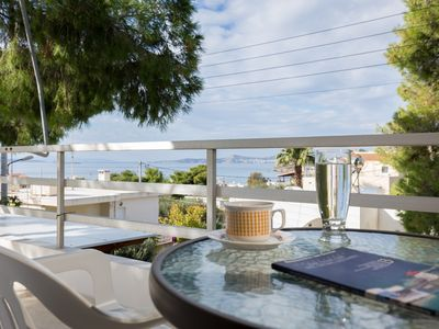 Photo for Sea View Maisonette in Lagonisi