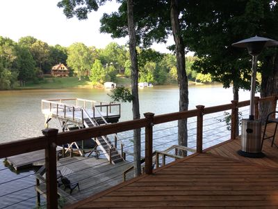 Photo for Beautiful Lakefront House on Lake Wylie in Charlotte