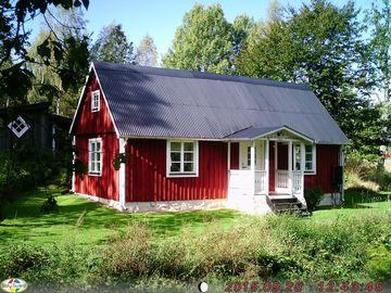 Charming Rosenfors with wonderful views, fishing and rowing boat