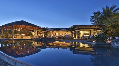 Photo for Phenomenal Villa with Ocean View, Swim-Up Bar, Home Gym and located on a Golf Course