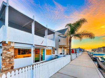 Photo for 25% OFF SEP - Beach Home w/ Balcony, Steps to Sand & Walk to All