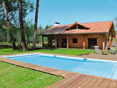 Photo for Moliets-et-Maa Holiday Home, Sleeps 8 with Pool, Air Con and Free WiFi