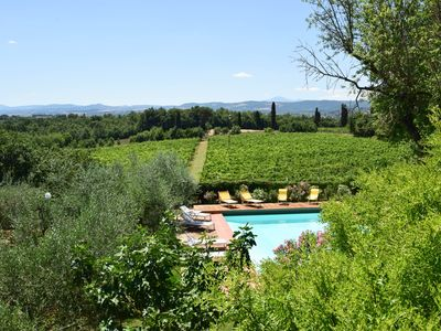Photo for Villa with private pool, air conditioning, 4km from town, 30km Siena & Arezzo