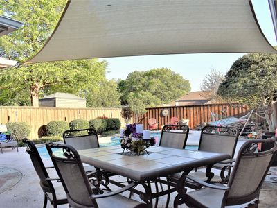 Photo for Gorgeous Family Plano Home ~ Private Backyard Pool Oasis