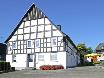 Photo for Apartment in the Sauerland region on a farm with animals and private terrace