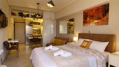 Photo for Cozy Luxury Apartment in the Heart of Athens 8-1
