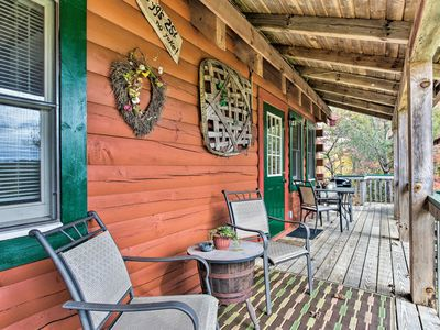 Photo for NEW! 'Uncle Bunky's' Bryson City Cabin w/ Hot Tub!