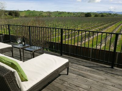 Photo for Endless Vineyard Views - Fall / Winter Rates Available Now