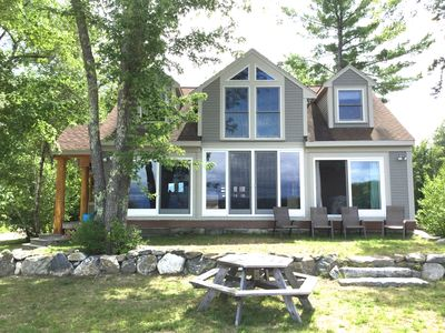 Photo for The best comfort, luxury, scenery, water access, appointments on Ossipee Lake