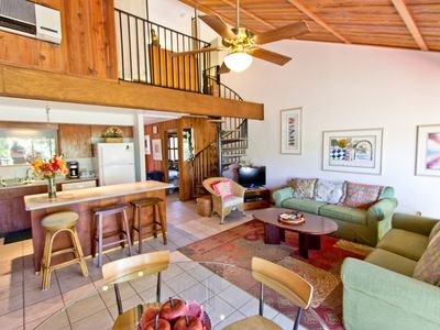 Photo for Two-Story Town Home; Topical Grounds; Heated Pool & Hot Tub; Easy Beach Access
