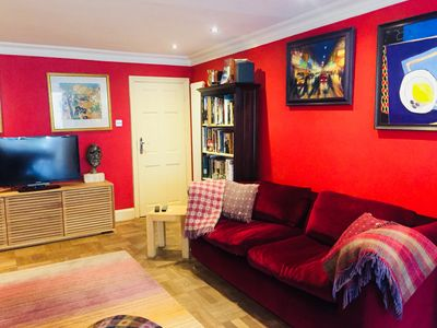 Photo for Luxury Garden Flat close to central London