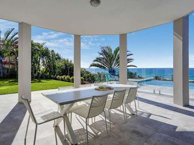 Photo for Expansive Ocean Views, Modern, Beautifully Furnished, Short Stroll To Beach