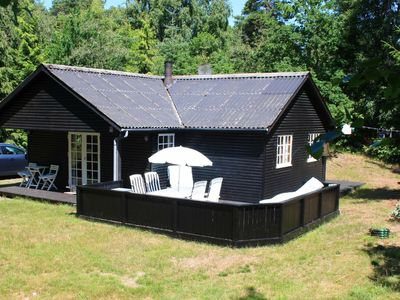 Photo for Cozy Holiday Home in Nexø with Roofed Terrace