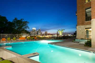 Sunset pool side is something to savor.  Bring your camera!