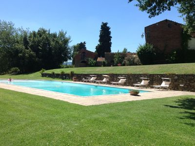 Photo for 4BR Villa Vacation Rental in Oliveto, Tuscany