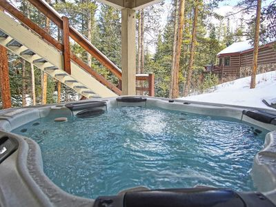 Photo for **Pet Friendly** Luxurious 5 bedroom in Town, On Shuttle Route, Private Hot Tub
