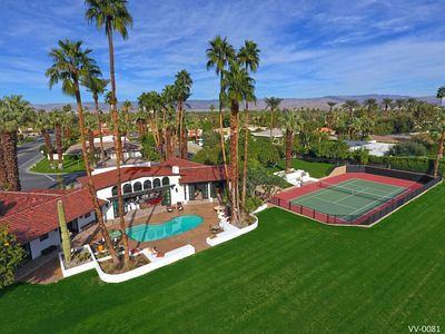 Photo for New 2 Acre Private Estate - Tennis Court, Pool/Spa, Orchards, Amazing Mtn Views