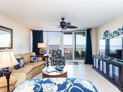 Photo for Shores Club 105, 2 Bedrooms, 1st Floor Oceanfront,  Sleeps 6