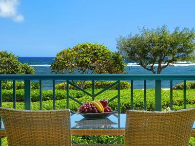 Photo for Waipouil Beach Resort Spectacular Luxury Oceanfront Condo
