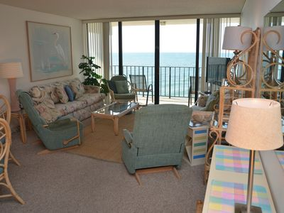 Photo for OCEAN FRONT 2 BEDROOM SUITE CONDO JUST FOR YOU