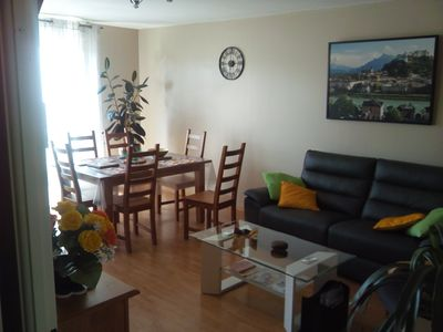 Photo for T3 spacious, quiet, near Expo Park and Chantrerie