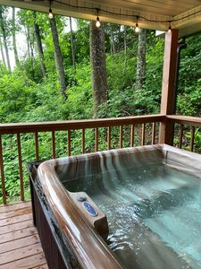 Photo for Strollin Bear @Sunset Hottub, Location, Parkway SPARKLING Clean🦋 welcome
