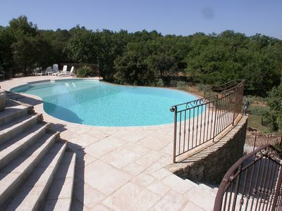 Photo for Charming villa with stunning views, private pool, playground