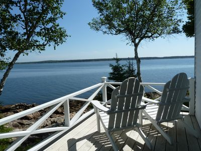 Photo for Forget the Outside World and Relax in this Beautiful Seaside Haven