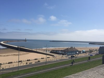 Photo for Stunning Sea View executive apartment with parking