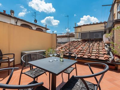 Photo for PONTEVECCHIO SUITE APARTMENT with LARGE TERRACE