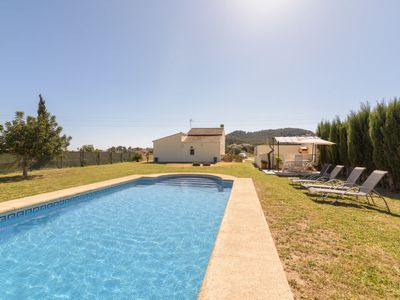 Photo for 2 bedroom Villa, sleeps 4 in Javea with Pool and WiFi